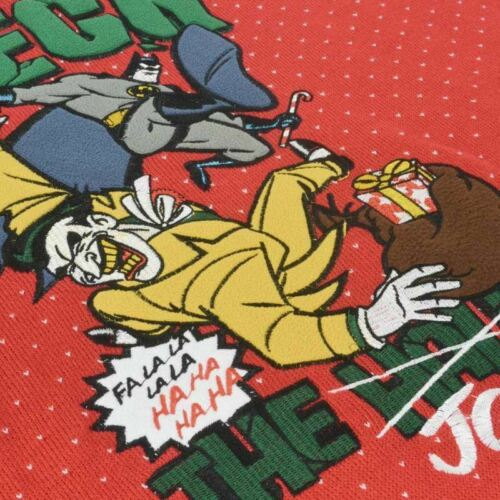 XL NEUF Numskull Noël Noël Pull Batman Deck le Joker UK XXL//US