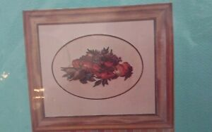 Vtg-Alice-Godkin-petit-point-needlepoint-chart-only-Lobster-plate-Still-Life-NEW