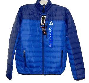 Gerry-Heat-Down-Men-039-s-Blue-Jacket-Heather-Sz-L-Fit-large-Good-For-Sz-XL