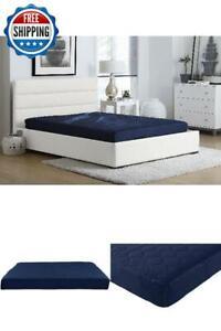 Full Size 6 Inch Memory Foam Mattress Comfort Polyester ...