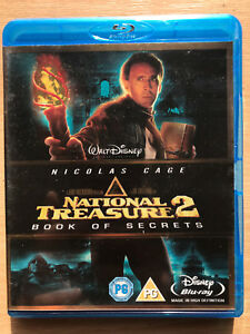 Nicolas-Cage-NATIONAL-TREASURE-2-BOOK-OF-SECRETS-2008-Action-Film-UK-Blu-ray