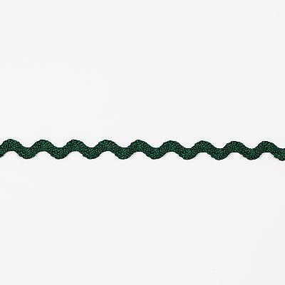 15mm Green Sequin Braid// Ric Rac Trim 20 Metres