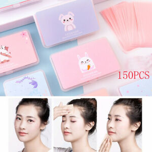 150-Sheets-Box-Cute-Oil-Control-Oil-Absorbing-Blotting-Face-Cleaning-Paper-b
