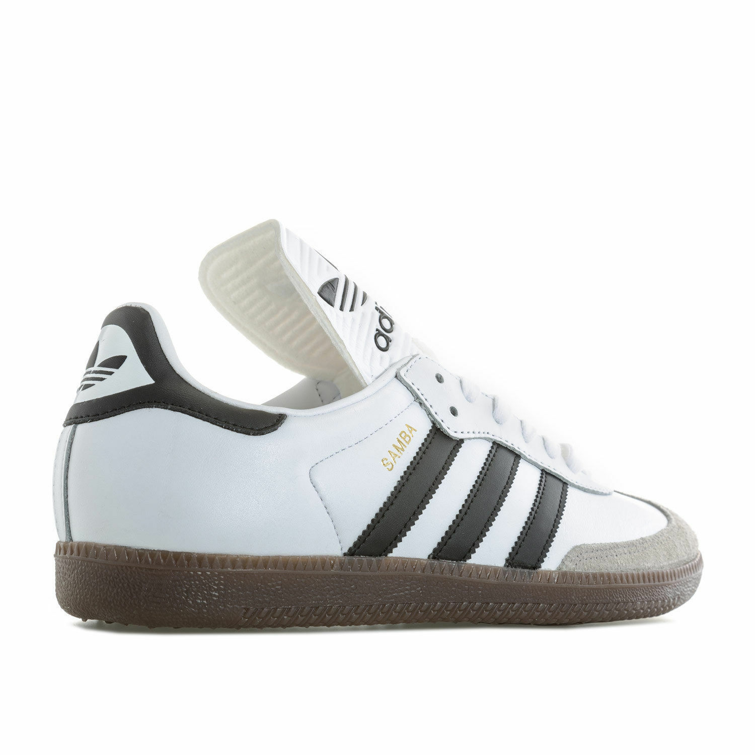 Mens Adidas Originals Samba Classic Classic Classic Og Trainers BZ0225 Leather made in Germany d3e957