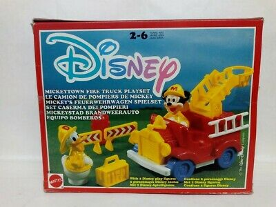 Set Caserma Dei Pompieri Disney Mattel Anno 1990