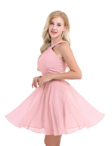 Womens Short Evening Formal Party Cocktail Maxi Dress Bridesmaid Prom Ball Gowns