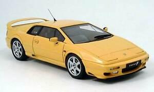 lotus esprit turbo v8 yellow 1 18 scale autoart brand new. Black Bedroom Furniture Sets. Home Design Ideas