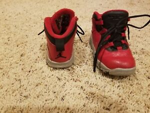 online store c9c8c 2c6b8 Details about toddler boys size 8 jordan shoes red/black