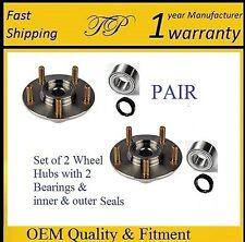 2002-2003 MAZDA PROTEGE5 Front Wheel Hub & Bearing & Seal Kit (PAIR)