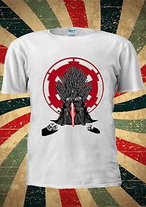 HonnêTe Star Wars Darth Vader Jeu Des Trônes G T-shirt Débardeur Hommes Femmes Unisexe 2050-afficher Le Titre D'origine Apparence éLéGante