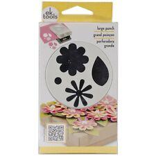EK SUCCESS Slim Paper Punch Large ~ Flowers & Leaves, E5430163 ~ NIP