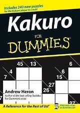 Kakuro For Dummies Heron, Andrew Paperback