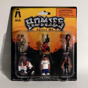 LibéRal Homies Figurines / - Série #6 Set 1 - 1:3 2 - 4,5 Cm - Rare - Emballage
