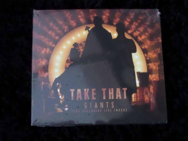 Take That 'Giants' CD Single New Sealed