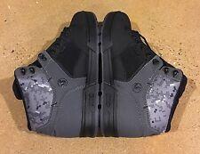 DVS Westridge Size 10.5 Black Grey Warple Buck BMX DC MOTO Snow Series Boots $95