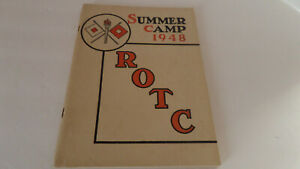 Signal Corps Army ROTC Fort Monmouth, N.J. - 1948 Summer Camp Yearbook