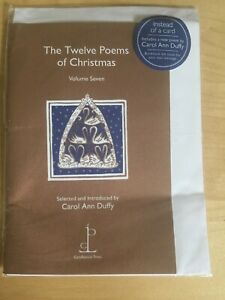 Details About New The Twelve Poems Of Christmas Volume Seven 7 Carol Ann Duffy Candlestick