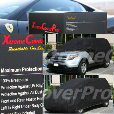 2017 2018 Ford Escape Waterproof Car Cover w//MirrorPocket BLK