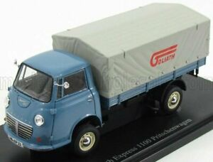 AUTOCULT 1/43 GOLIATH   EXPRESS 1100 FLATBED TRUCK GERMANY 1957   BLUE LIGHT ...