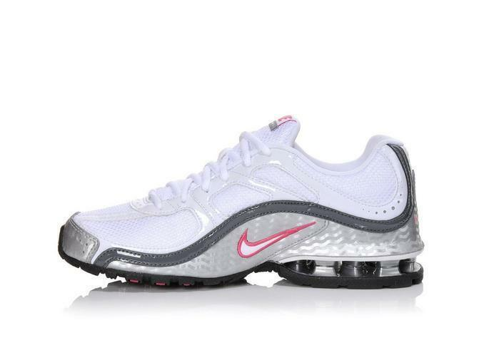 407987 116 NIKE REAX RUN 5 Women's shoes White Pink Pick Size NEW IN BOX