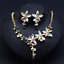 Women-Chunky-Fashion-Crystal-Bib-Collar-Choker-Chain-Pendant-Statement-Necklace thumbnail 101