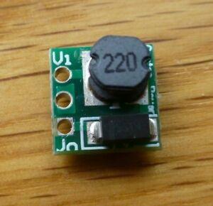 0.8 - 3V to 3.3v DC-DC Step-Up Voltage Boost Converter / Regulator 500mA 2108A