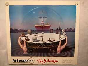 The-Surrealistic-World-of-Tito-Salomoni-NY-Art-Expo-1981-Print-Poster-26-x-29