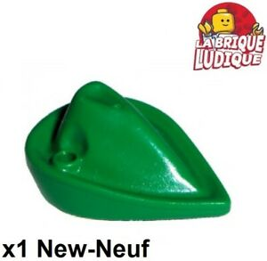 1x Minifig headgear hat chapeau Forestmen robin des bois vert 88489 NEUF Lego
