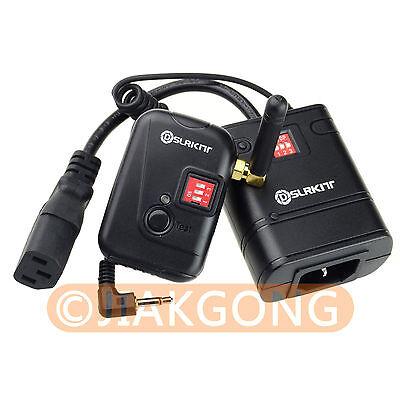 """DSLRKIT 8 channel Wireless Studio Flash Trigger AC-08B 3.5mm 1/8"""" Plug"""