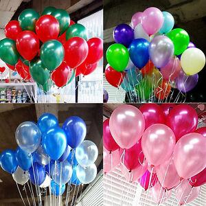 100-Luftballons-Geburtstag-Hochzeit-Party-Deko-Club-Ballons-Farbmischung