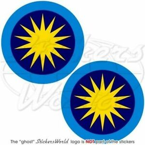 MALAYSIA Royal Malaysian AirForce TUDM Roundel Vinyl Decals - Custom vinyl stickers malaysia