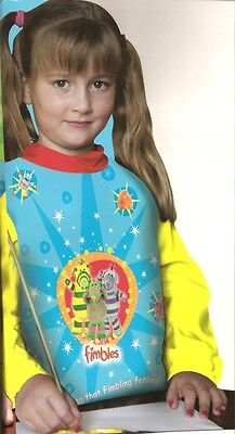 Fimbles ! Art Smock & Library Bag > Perfect Gift For Studying Kids ! Durable Service