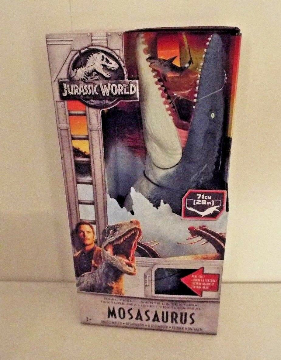Jurassic World Fallen Kingdom MOSASAURUS Real Feel  IN HAND Box 2018 NIB Park