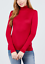 Women-Long-Sleeve-T-Shirt-Slim-Fit-Turtle-neck-Pullover-High-Tops-Casual thumbnail 40