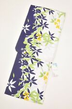 Yukata Summer Kimono for Lady's k681 Purple,Green,Yellow