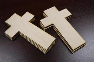 10x-CR-Plain-Wood-Wooden-Cross-Embelishments-Craft-Shapes-Memorial-Crucifix