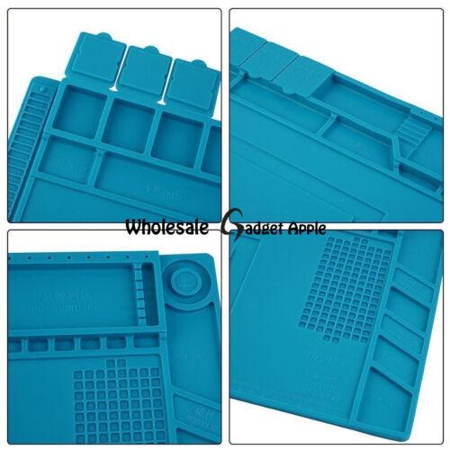 Magnetic Heat Silicone Pad Desk Mat Soldering Repair For BGA-Size 45cm x 30cm