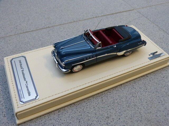 Buick Roadmaster 1949 Convertible Cabriolet Bleu Marine Tsm Modèle Modèle Modèle de Voiture 1 | Finement Traité  59c5eb