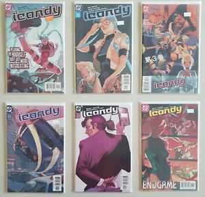 Icandy-1-2-3-4-5-6-Complete-DC-Comics-2003-Set-Series-Run-Lot-1-6-VF-NM