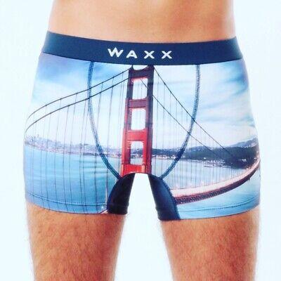 Waxx Men/'s Microfibre Trunk Boxer Boracay