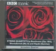 BEETHOVEN SHOSTAKOVICH & HAYDN - STRING QUARTETS: JERUSALEM QUARTET - BBC CD