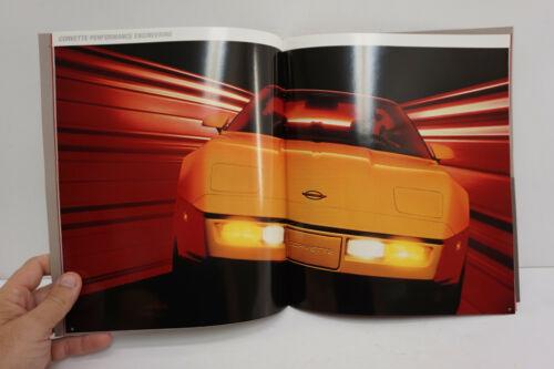 1986 Chevrolet Corvette Dealer Brochure NOS