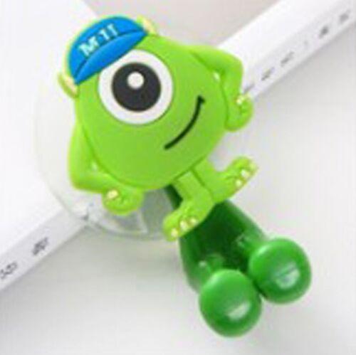 Animal Cute Minion Hello Kitty Cartoon Suction Cup Bathroom Toothbrush Holder