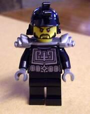 Lego Ninja Ninjago - Karlof - Samurai Figur schwarz mit Helm u. Rüstung Neu