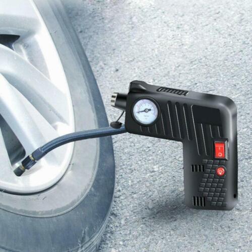 12V Electric Auto Car Bike Tire Inflator Pump Portable Cordless Air Compressor