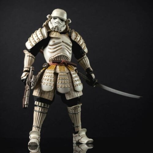 "Japanese Star Wars Ronin Movie Realization Samurai  Action Figure 7/"" New in box"