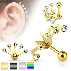 stud en plated assorted altin studs ear karisik birthstones tasli gold piercing