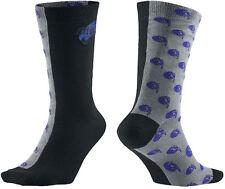 Air Jordan Retro 11 XI Space Jam Grey Black Blue Elite Socks Men's 8-12 LG New