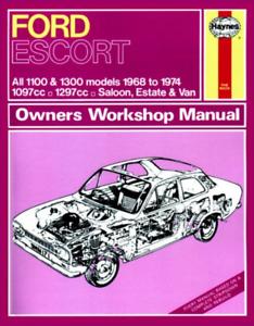 Ford-Escort-Mk-1-1968-1974-1100-1300-GT-Haynes-Workshop-Manual-Service-Repair