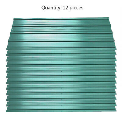 12pcs Roof Sheets Garage Shed Galvanized Metal Roofing